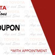 service coupon 2