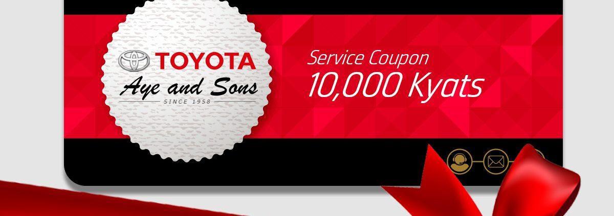 10000 kyats coupon